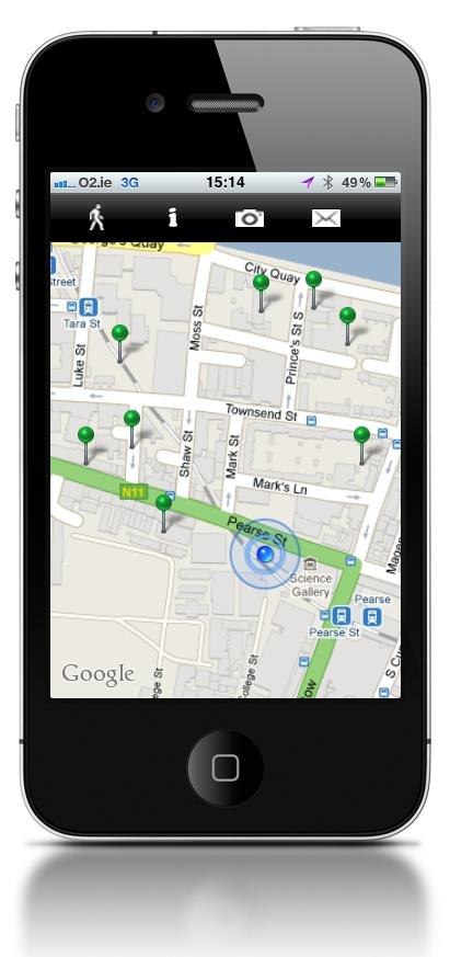 WalkSpace alternative walking app, now available as a free download from the appstore