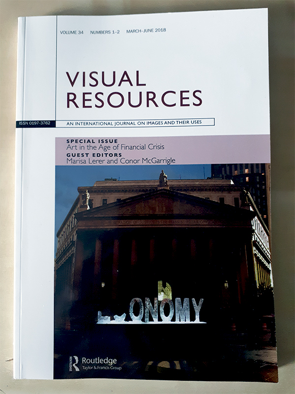 Visual Resources: Art in the Age of Financial Crisis