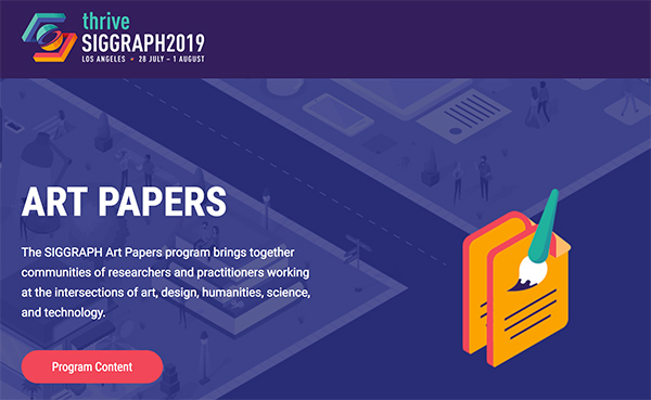 SIGGRAPH Art Papers